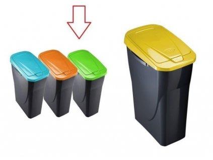 Odpadkový koš Fave 25 l zelený