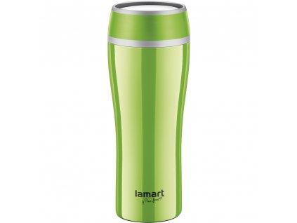 Termohrnek 0,4l zelený FLAC - LAMART LT4024