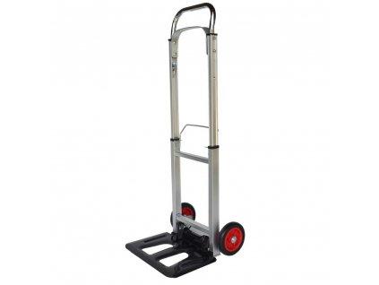 BECKFORD Vozík skládací hliníkový / rudl, 90 kg