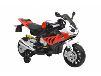 Dětská elektrická motorka BMW S1000RR-red