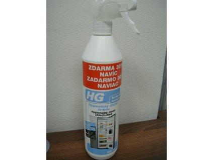 HG hygienický čistič lednic 0.5 l + 30% navíc