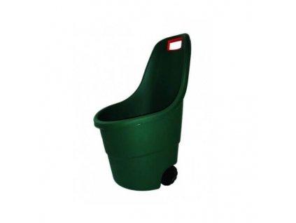 Keter Vozík Easy GO 55 L zeleno/oranžový 154115
