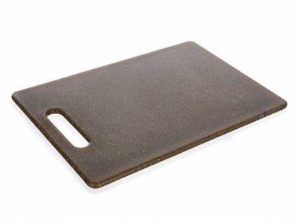 Prkénko krájecí plastové GRANITE Dark Brown 30 x 20 x 0,8 cm