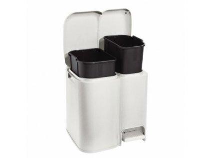 Tontarelli Koš na tříděný odpad Patty 2 krémová, 13+8L 8105205159