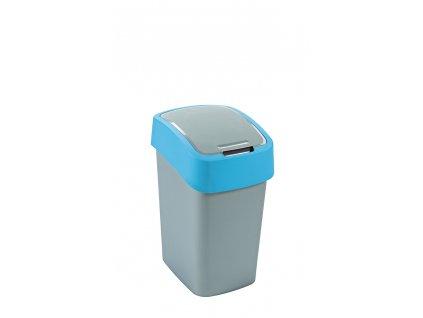 Curver Flipbin odpadkový koš 25 l stříbrná/modrá