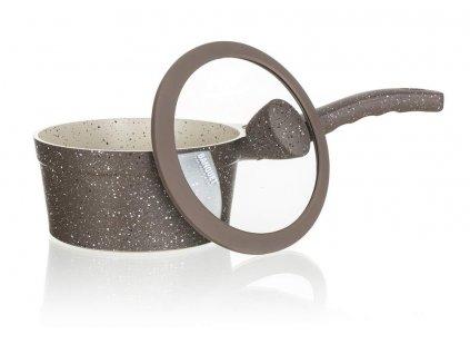 Rendlík s nepřilnavým povrchem MARRONE 16 cm, 1,3 l, s poklicí