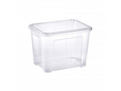Tontarelli COMBI BOX 18L s víkem, transparent 8031425P10