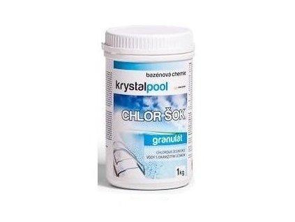 Chlor šok KrystalPool 1 kg