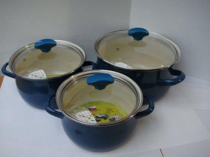 Belis Blue Line sada nádobí 3 ks
