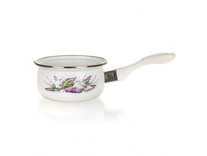Smaltovaný rendlík Banquet Lavender 14 cm/0,65 l