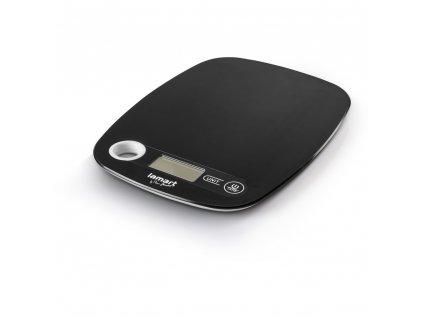 Kuchyňská váha POIDS černá LAMART