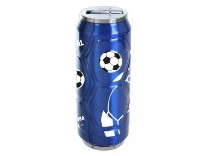 Termoska - plechovka Orion fotbal 0,5 l