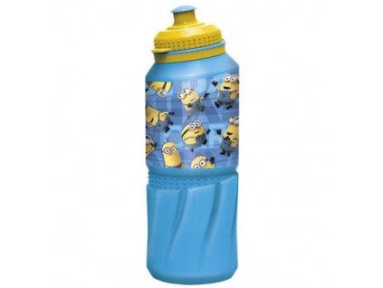 BANQUET Láhev plastová sportovní EASY MINIONS RULES 530 ml