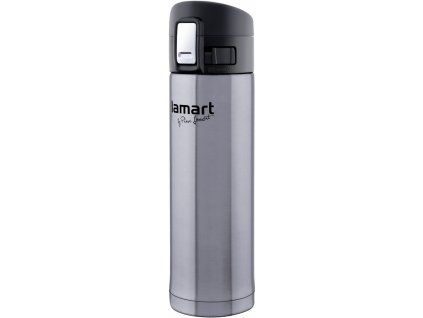 Termoska BRANCHE stříbrná 0,42l LAMART