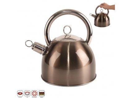 Nerezový čajník NELY 2,5l