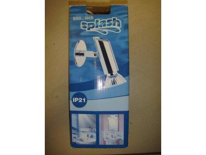 Briloner Koupelnové stěnové světlo, kov, 1xE14/40W 2115/018