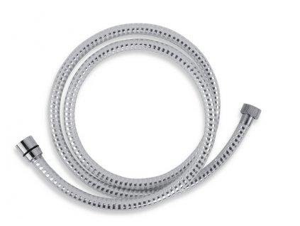 Sprchová hadice plastová 150 cm, bílá/chrom BIFLEX/150,1-Novaservis