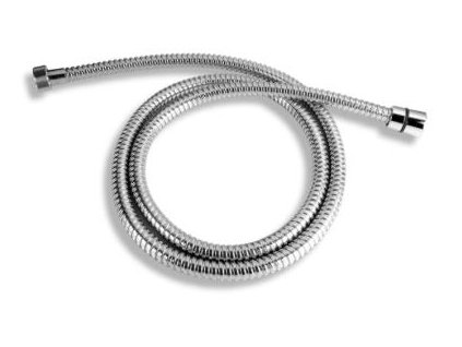 Sprchová hadice kovová 150 cm,chrom MET/150 - Novaservis