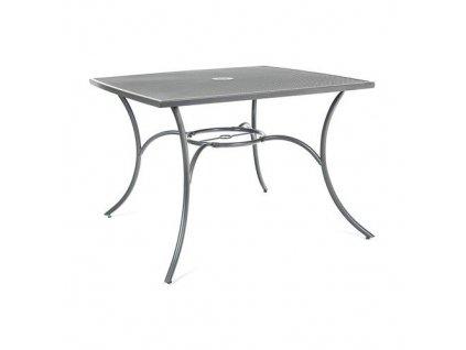 Ocelový stůl Happy Green Maine 100x100 cm