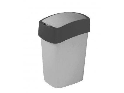 Curver Flipbin odpadkový koš 25 l šedá