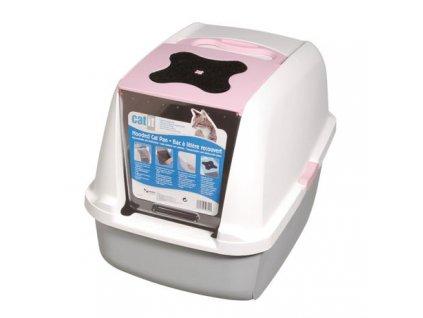 Toaleta pro kočky Hagen Cat It Design růžová