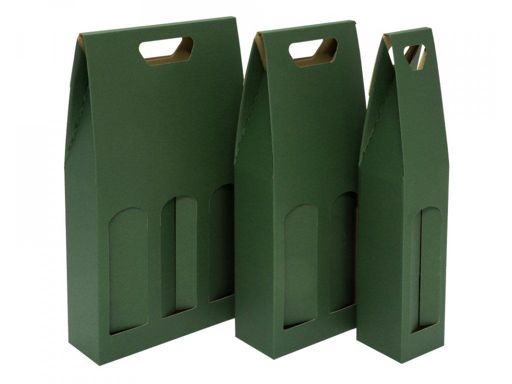 krabice 1 2 3 zelene