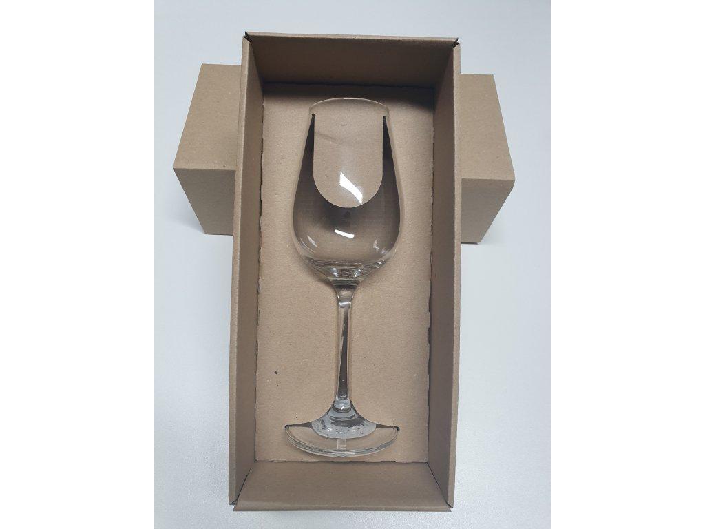 Set dárková krabička se skleničkou S03 250 ml s potiskem