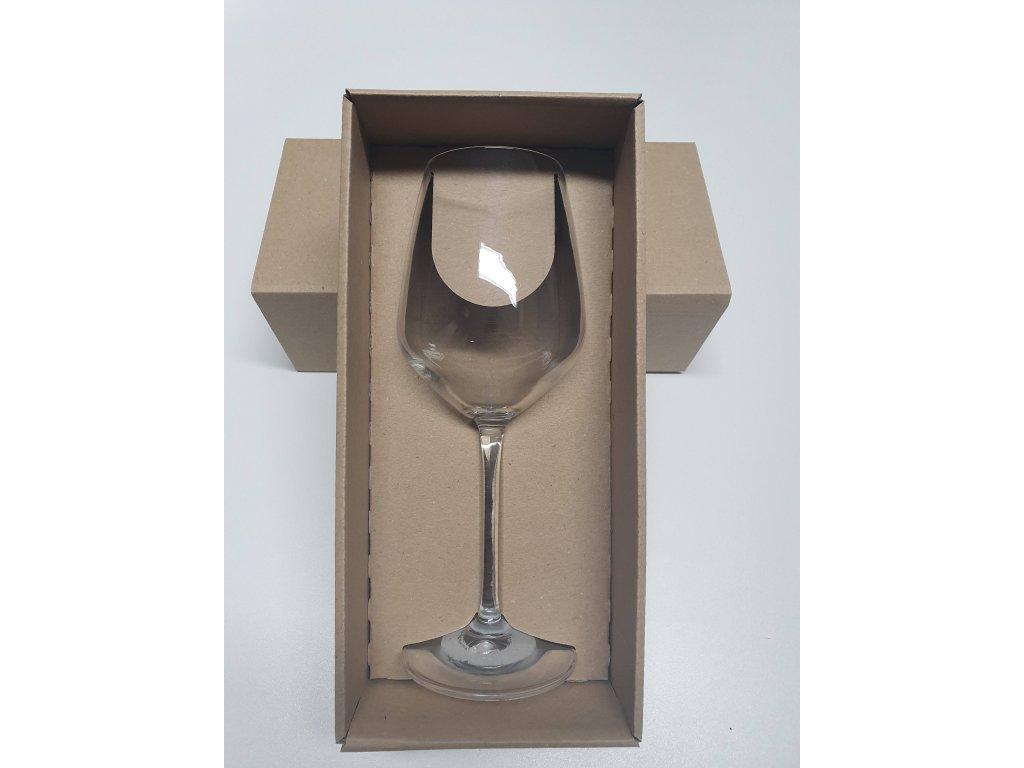 Set dárková krabička se skleničkou S04 340 ml s potiskem