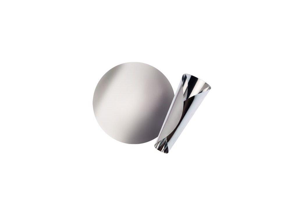 Nálevka na víno stříbrná (sada 2 ks)