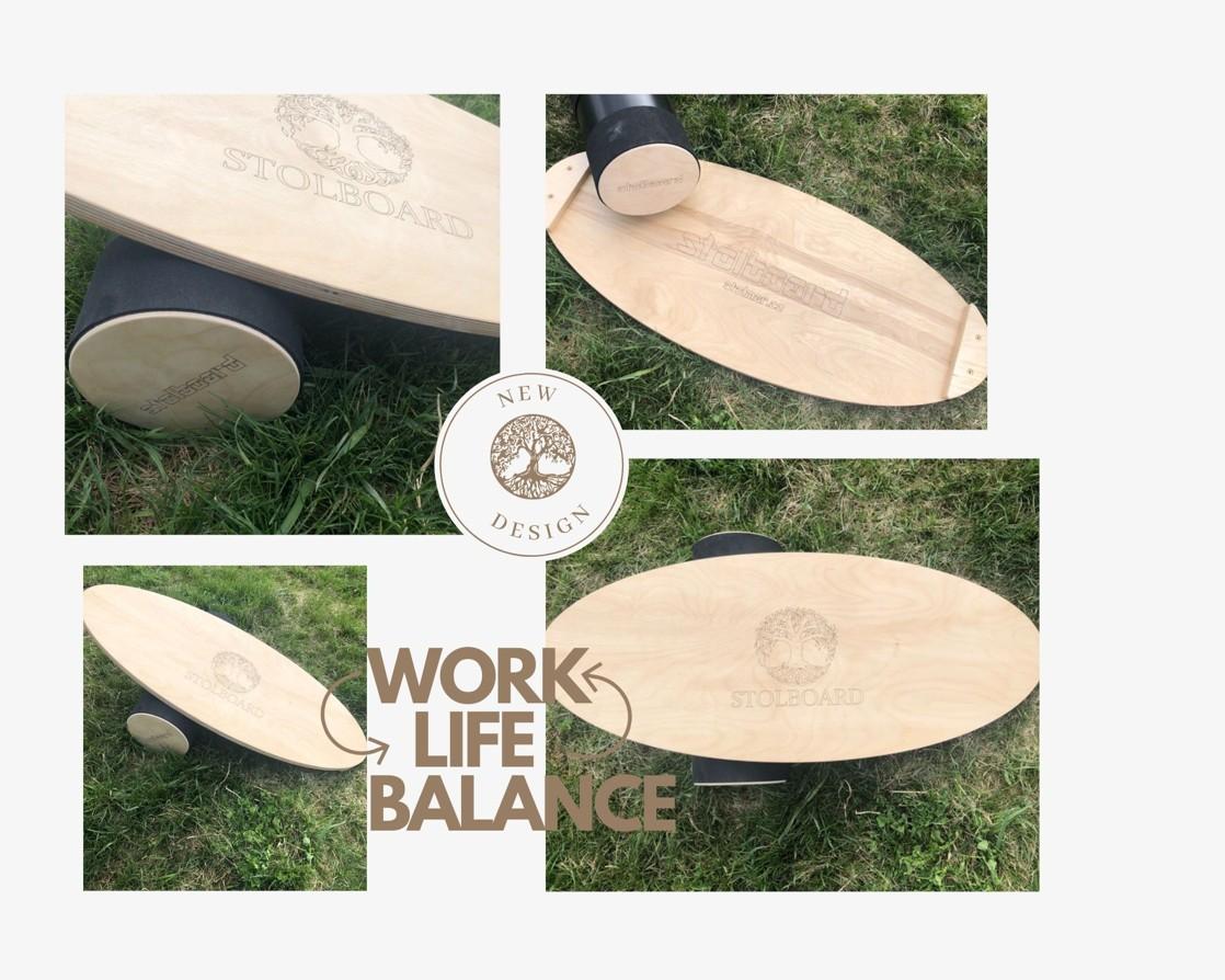 Balanční deska Stolboard