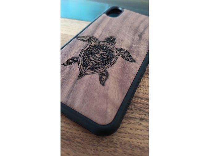 Dřevěný kryt pro iphone X