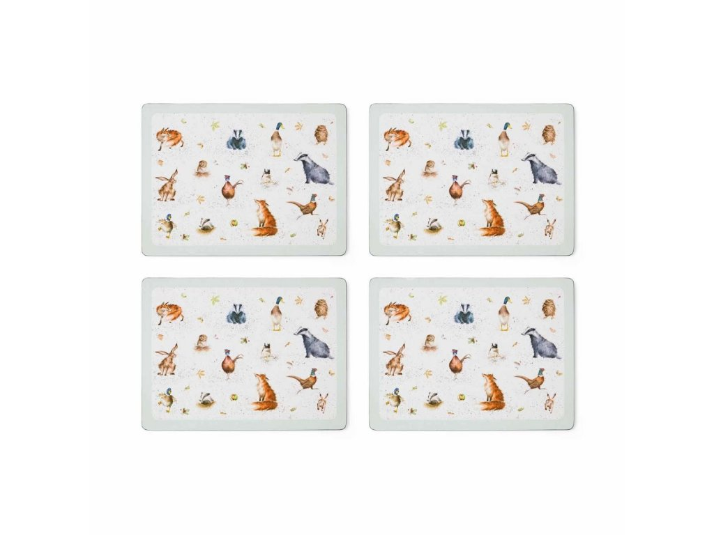 wrendale large placemats s 4 3