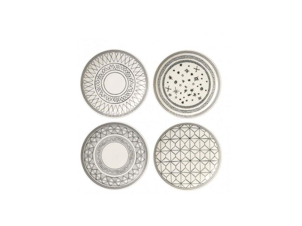 royal doulton ed charcoal grey plates 701587353564