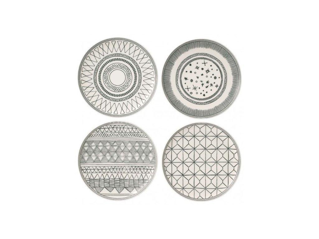royal doulton ed charcoal grey plates 701587353519