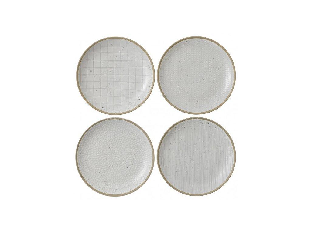 royal doulton maze grill white plate set 701587401654