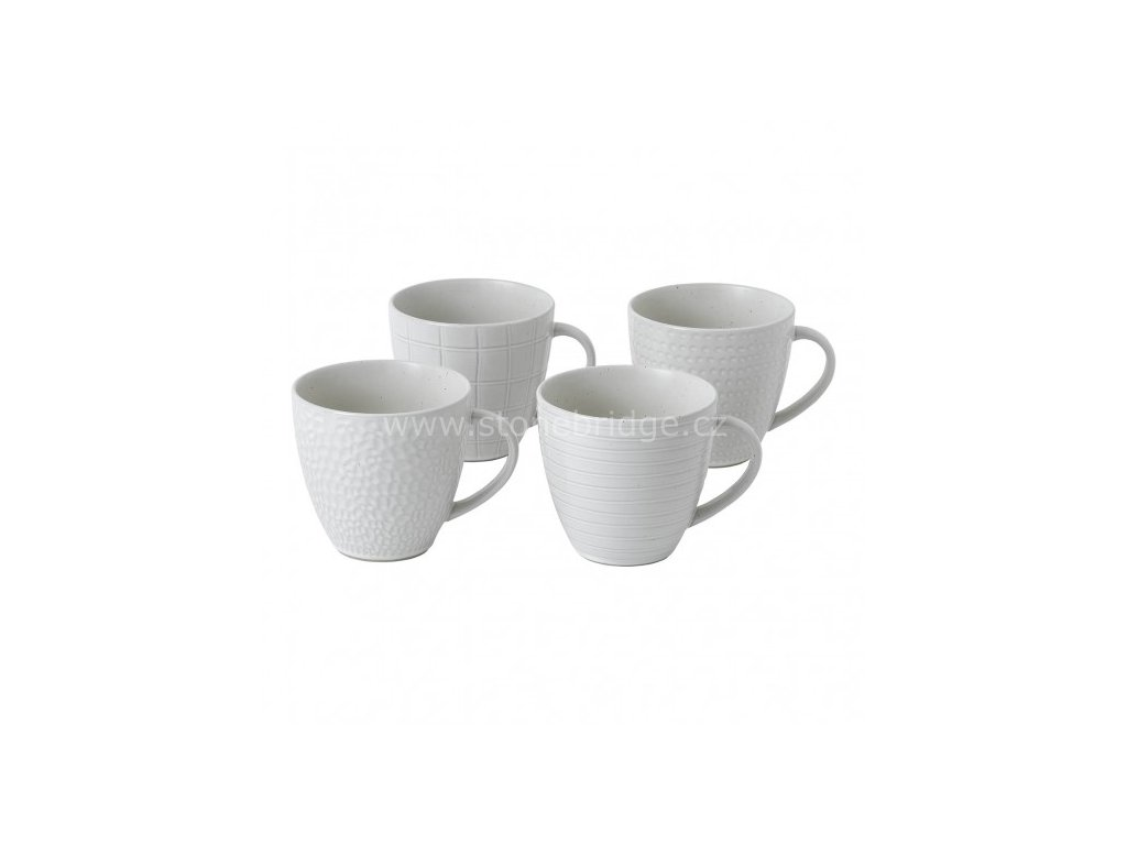 royal doulton maze grill white mug set 701587401739 alt1