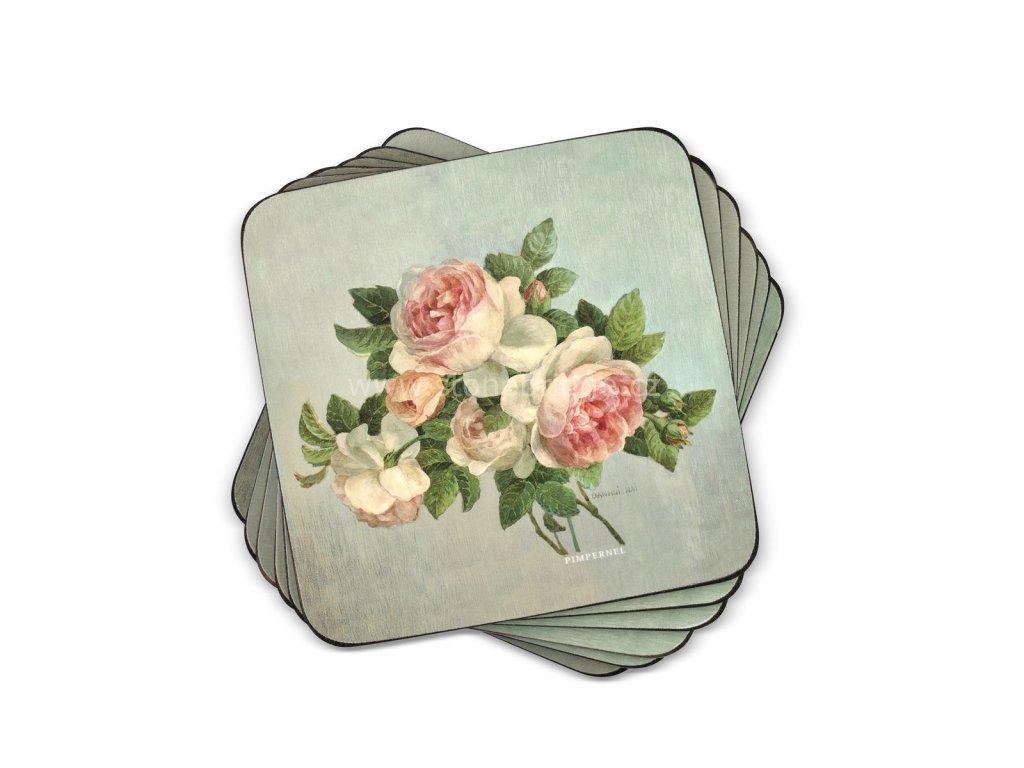antique roses coaster set web 1
