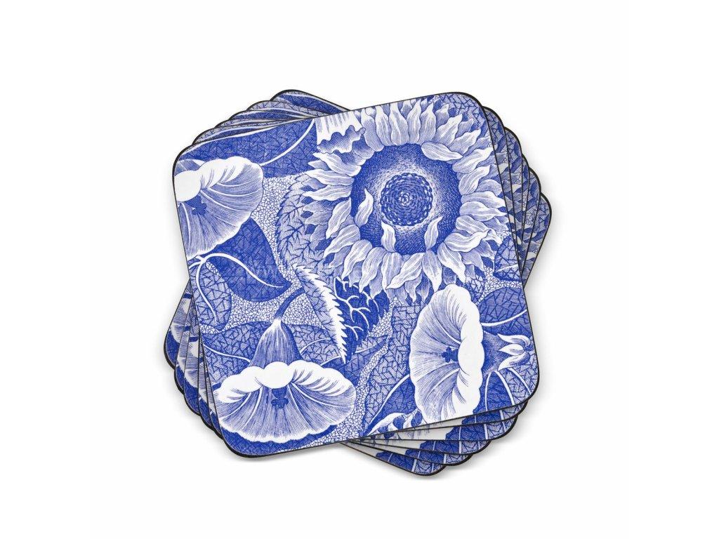 blue room sunflower coaster set web 1