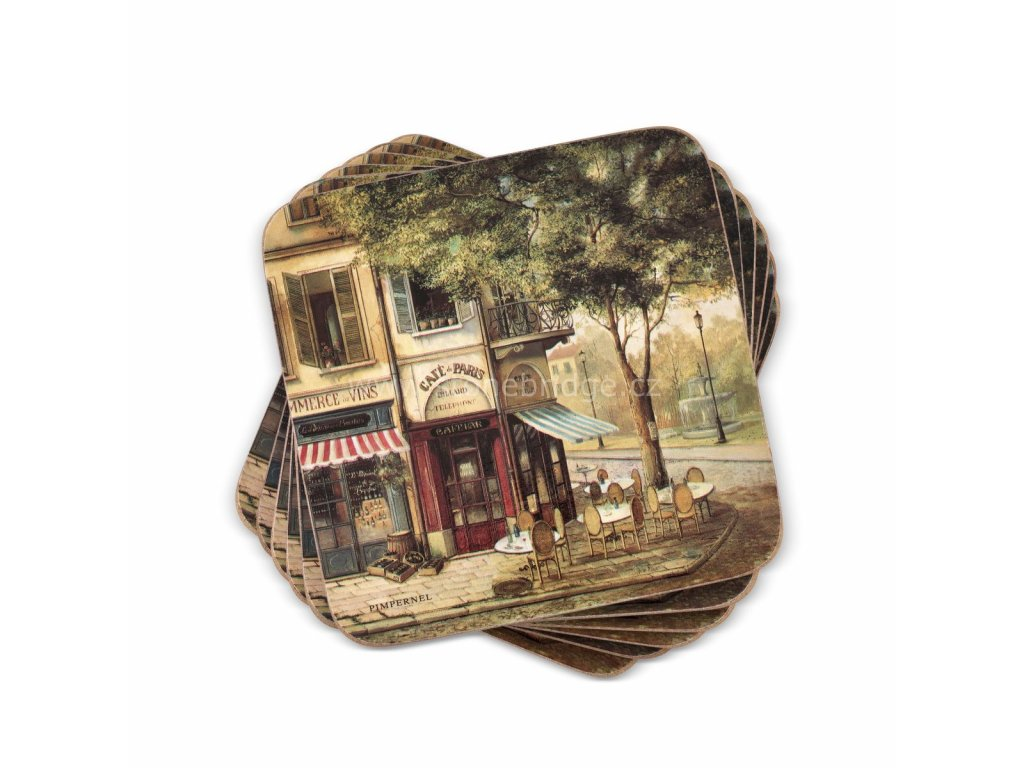 parisian scenes coaster set web 1