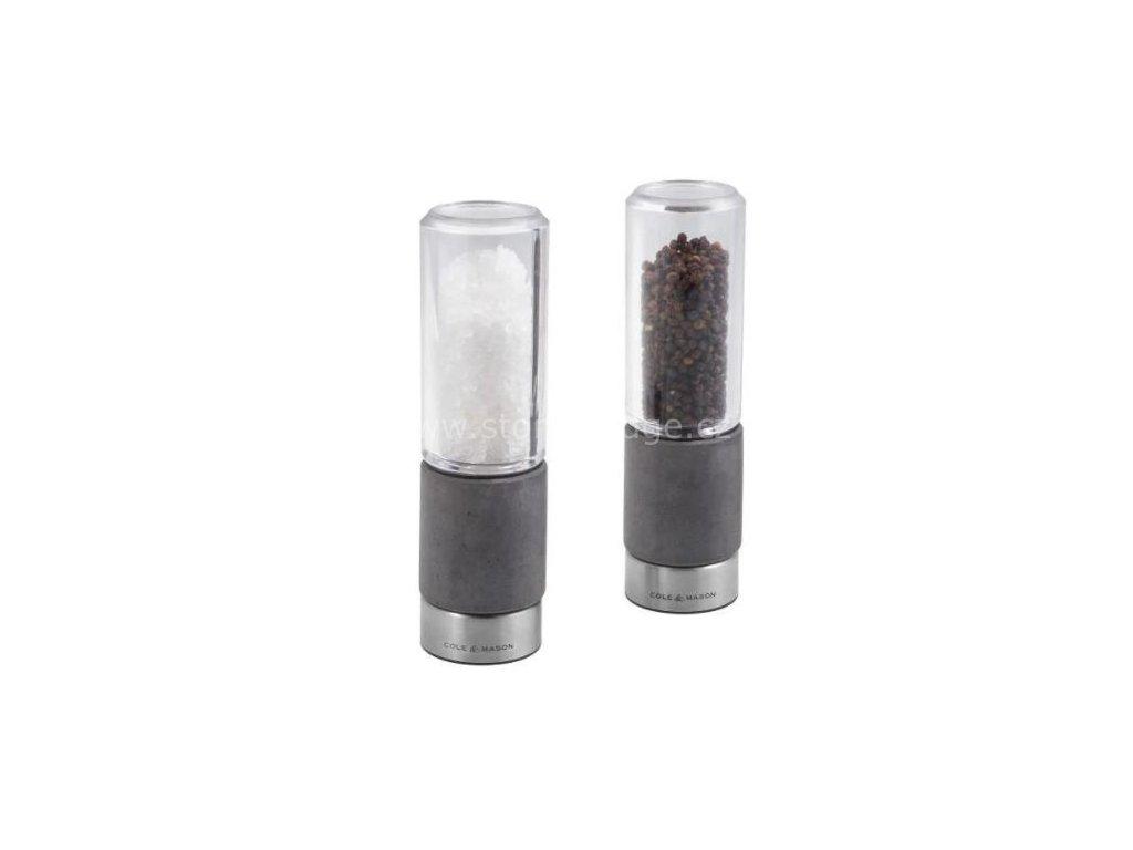 Cole & Mason Regent Concrete set mlýnků sůl a pepř