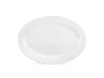 Seren WHITE oval talir
