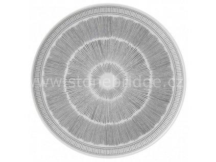 royal doulton ed charcoal grey lines serving platter 701587336017