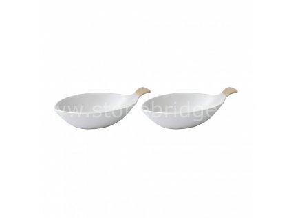 set 2 misek ve tvaru rybiček, velká