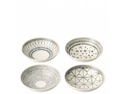 royal doulton ed charcoal grey bowls 701587353618