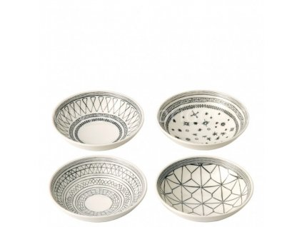 royal doulton ed charcoal grey bowls 701587353618