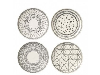 royal doulton ed charcoal grey plates 701587353564