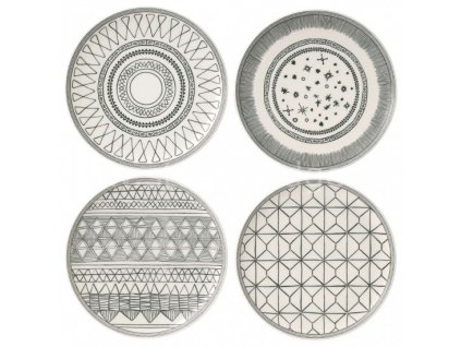 royal doulton ed charcoal grey plates 701587353519