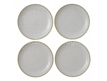 royal doulton maze grill white plate set 701587401777 alt1