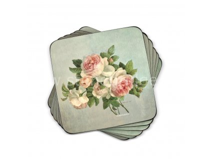 antique roses coaster set web 1
