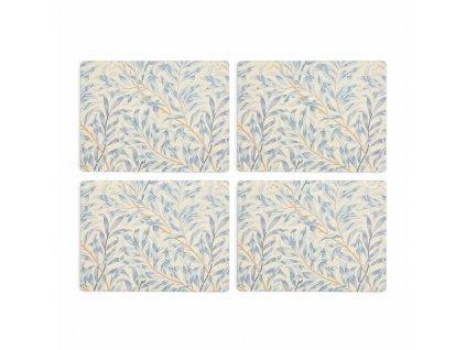 morris co willow bough blue placemats s 4 3
